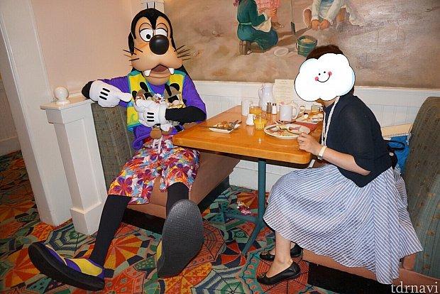 急遽ドナルドとの朝食デートが開催決定