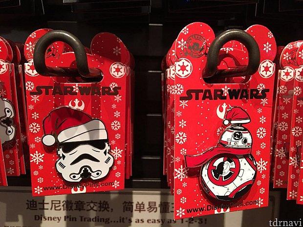 今のところクリスマスバージョンはスターウォーズの2種類のみ?