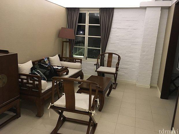 お部屋はこちら。キレイな室内です!