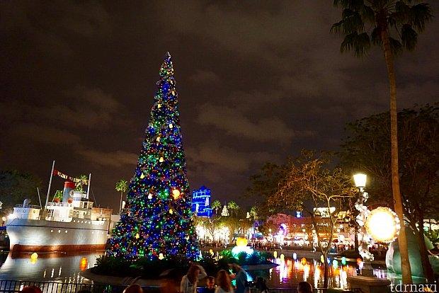 ディズニークリスマスはやっぱり綺麗です。
