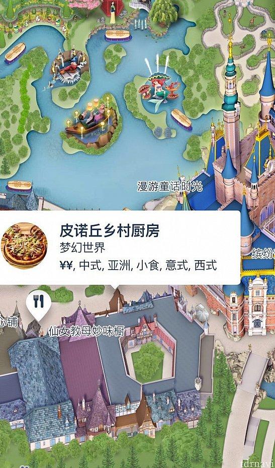 場所はお城のすぐ近くです。