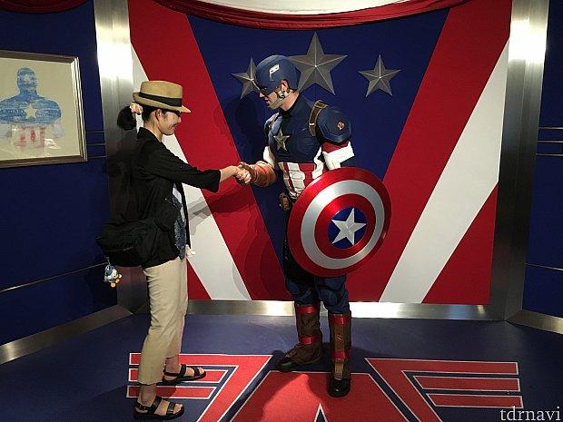 キャプテンアメリカは紳士な人でした