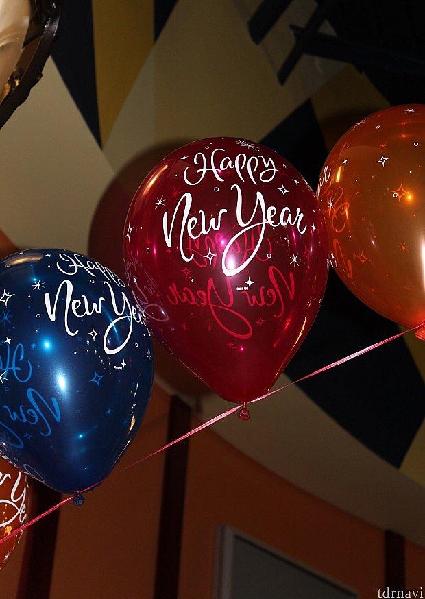 1月1日だけ、この風船が飾られていました!