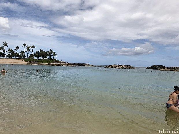 マリオットのビーチ