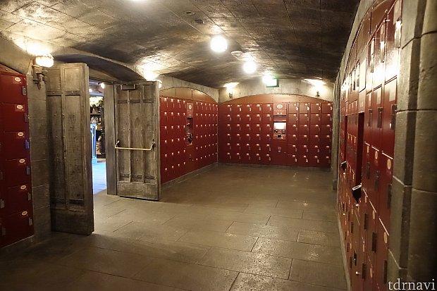 ロッカールームが広めに設計されているような気がしました。