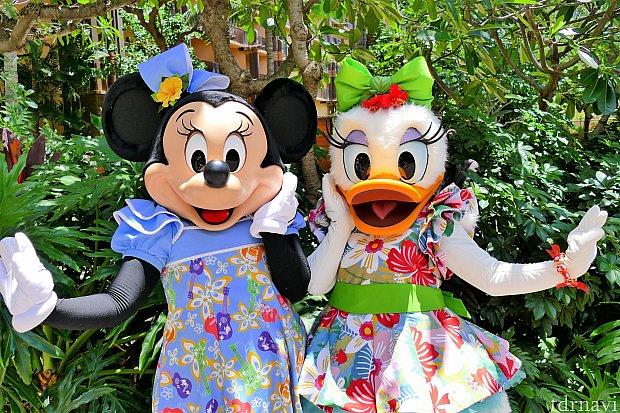 ミニーちゃん&デイジーのガールズグリ!可愛すぎました(´▽`)