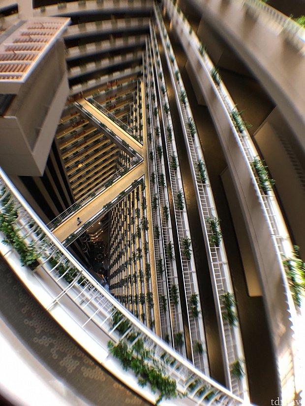 29階から下を覗いてみました