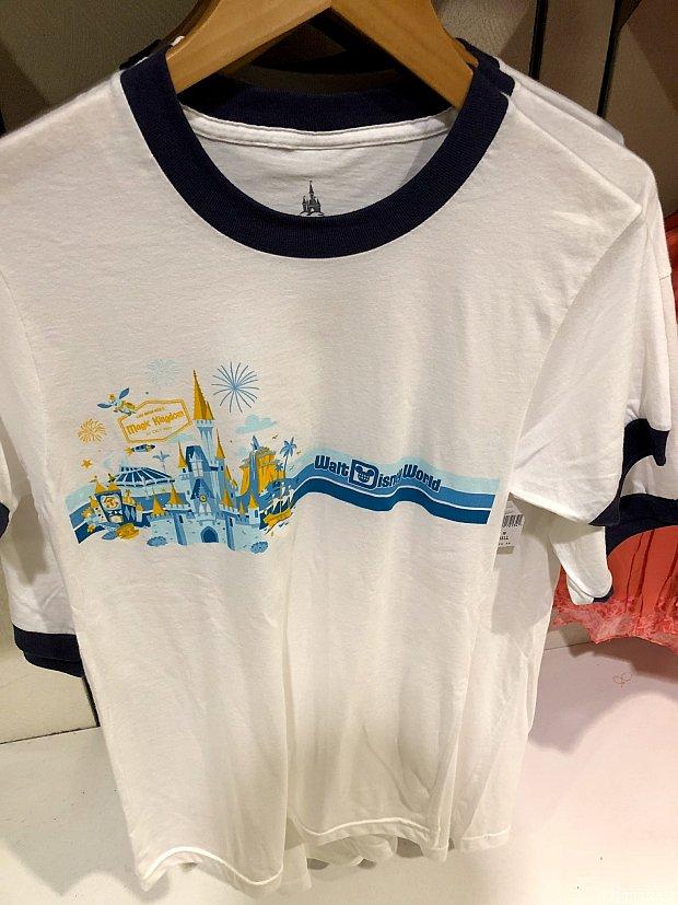 続いてのTシャツはマジックキングダムがデザインされたもので、生地がとっても柔らかかったです。ちょっと生地が薄すぎる心配もありますが。