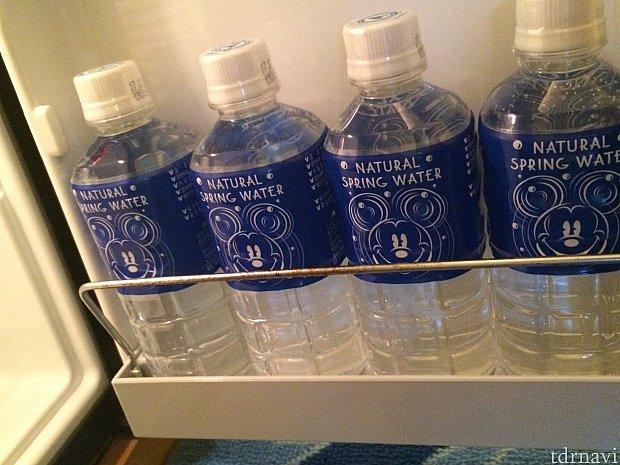 冷蔵庫の水もディズニー