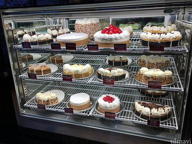 おいしそうなケーキがずらり!