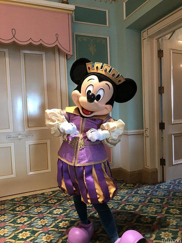 ミッキー王子