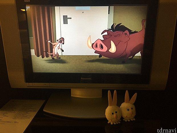 ディズニーチャンネルの視聴も可能。ただし、日本語対応はしていません。