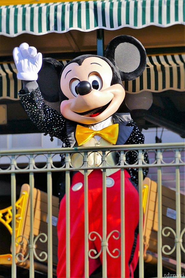 ミッキー!(≧▽≦ヘ)♪