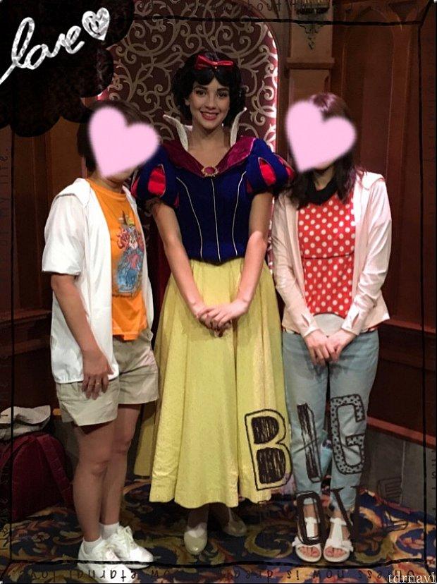 白雪姫!!とにかく若い!フレッシュでかわいかった!!