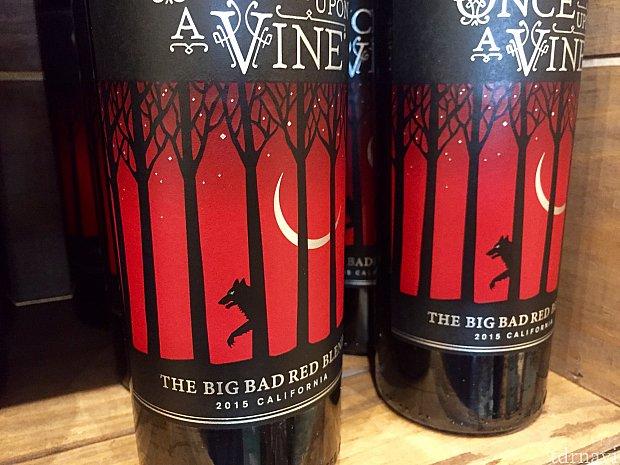 こちらは「The Big Bad Red Blend」狼がいると言うことは、3匹のコブタ?