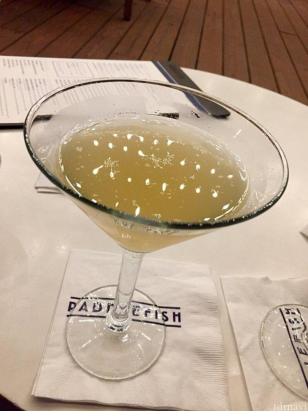 Mad about saffron martini. 甘くてこちらも飲みやすいカクテルでした。