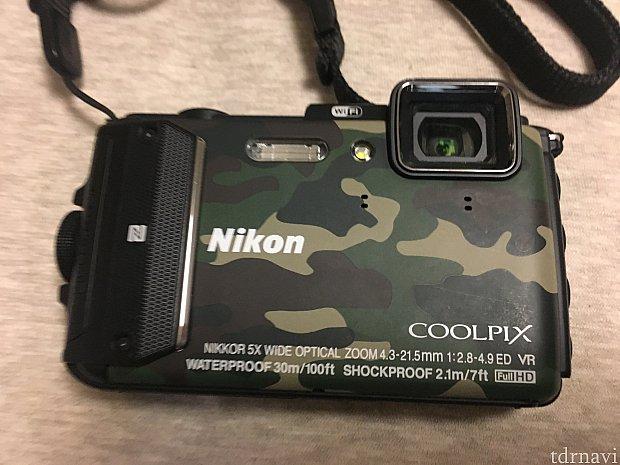 夏プロの日は水中でも撮れるNIKON COOLPIX AW130という防水カメラを持っていきます。安心してバシバシ撮れます!