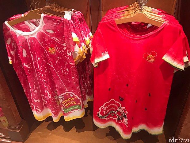 Tシャツ各3900円