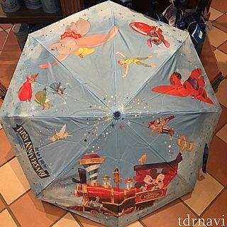 こちらは1周年の柄の傘です。