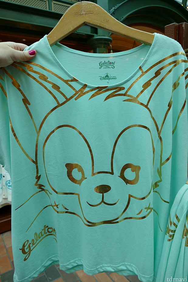 ジェラトーニの可愛いTシャツはオシャレ女子に嬉しい可愛いデザインです♪