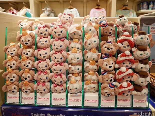 クリスマスバージョンと旧正月バージョンが!香港でしか買えないけれど、今のレートだと1つ1000円は越えるので手が出にくいです...