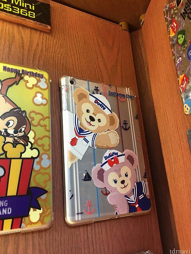 これは、iPad miniのケースになります。舞浜には売ってない!!