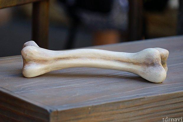 ちゃんと骨も用意されていますが、固定です。これを持ちながら撮影しましょう!