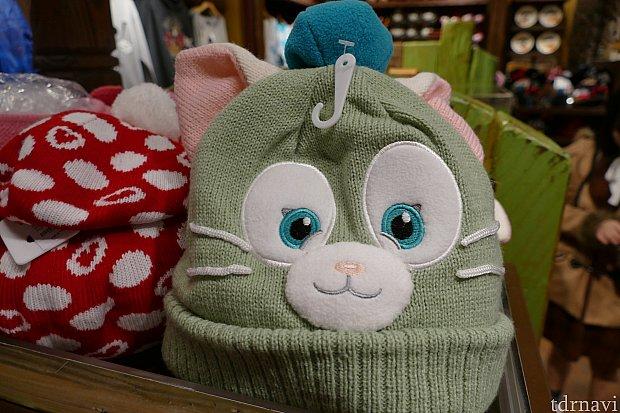 びっくりしたジェラトーニのニット帽。東京にはないグッズですね!