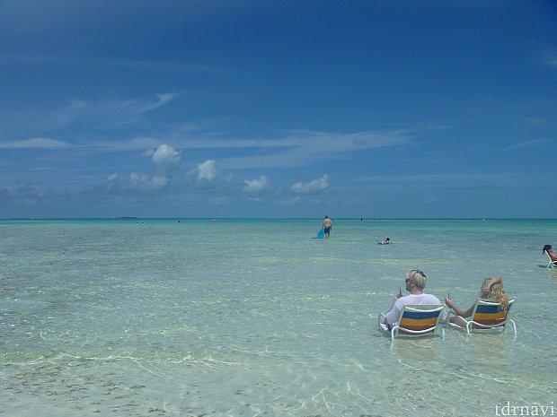実はこの場所でも砂浜からだいぶ離れてます!