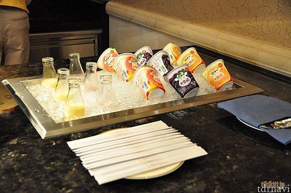 飲むヨーグルトがDCLで味わえるマンゴー・マウンテンハイクに似ていて大興奮でした!