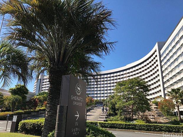 すごく大きなホテルです