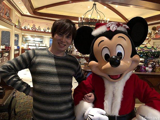 今はクリスマスコスのキャラです^_^