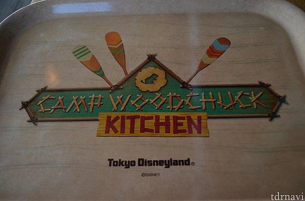レストランで使用されているトレーです。