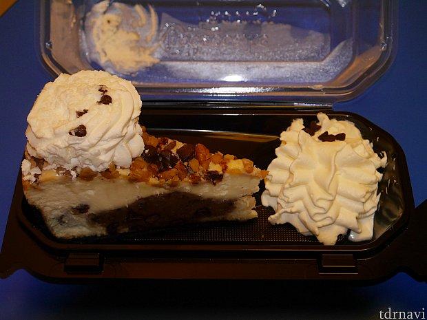 チョコレートチップクッキーチーズケーキ!!