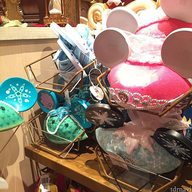写真は違うお店で撮ったものですが、シンデレラ、アリエル、エルサ、プリンセスのものもありました(^^)