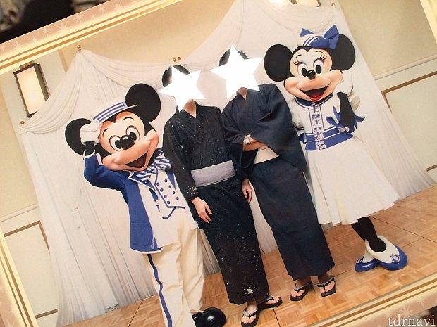 ミキミニペアグリ☆台紙付き写真