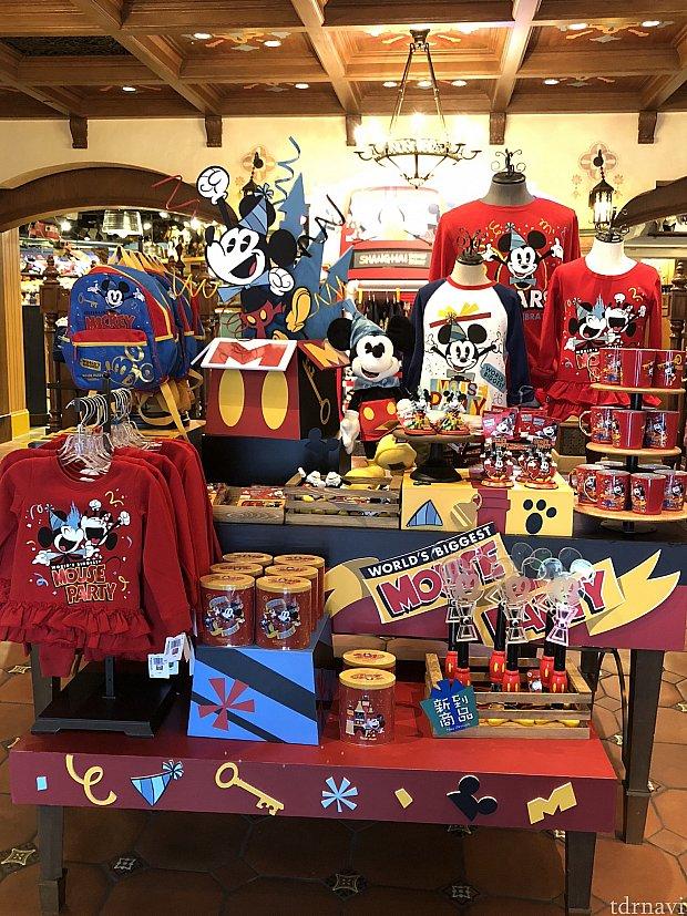 上海ディズニーのミッキー90周年グッズ☆SHDL:グッズ・お土産