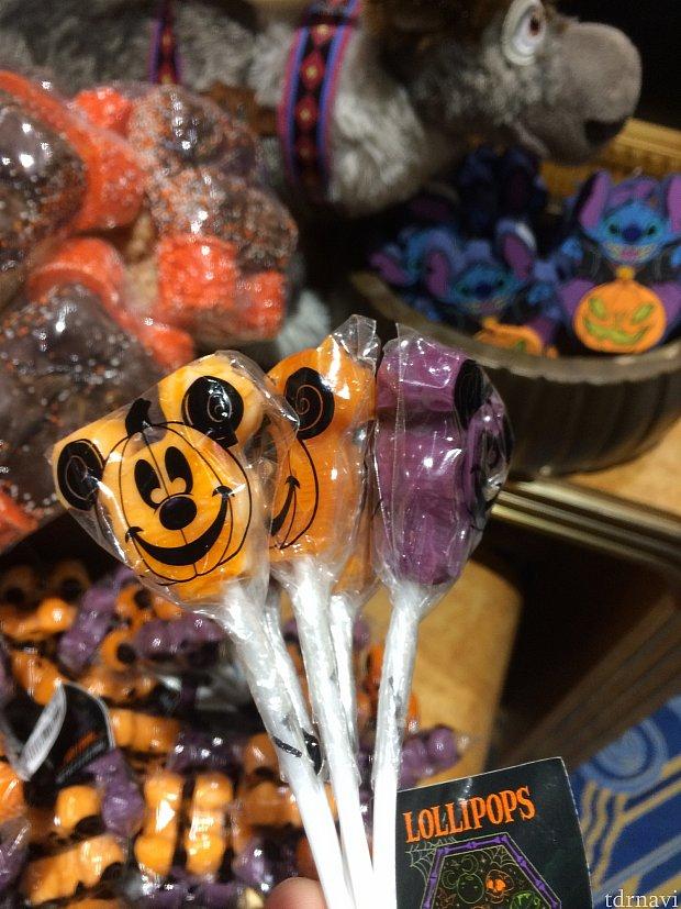 ハロウィンといえばキャンディ