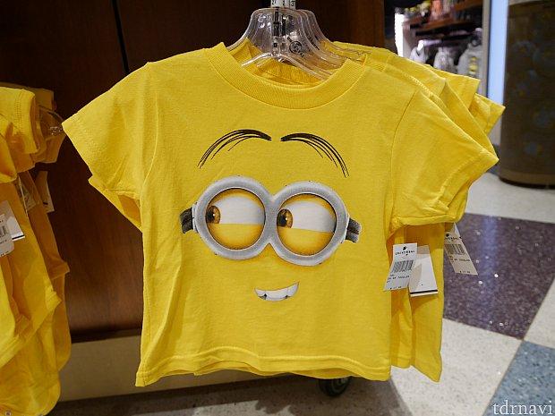 ミニオンTシャツ$17.95