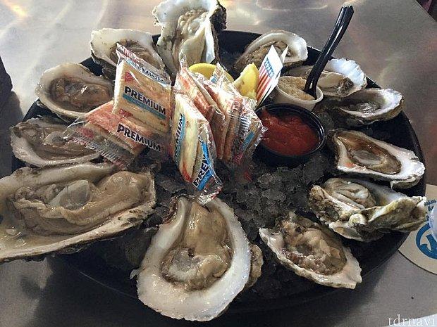Conch Republicの牡蠣は来るたびに12個ぺろっといただきます