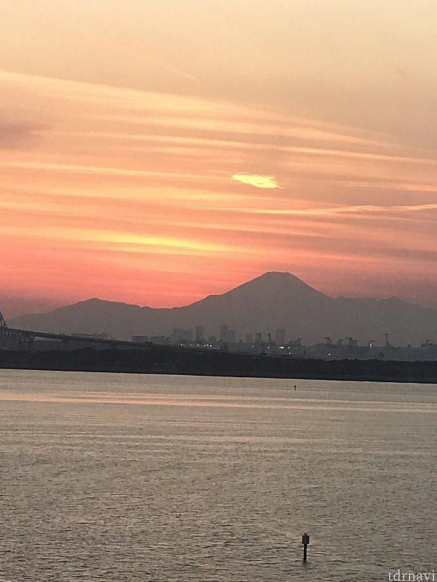 富士山🗻が見えました♡