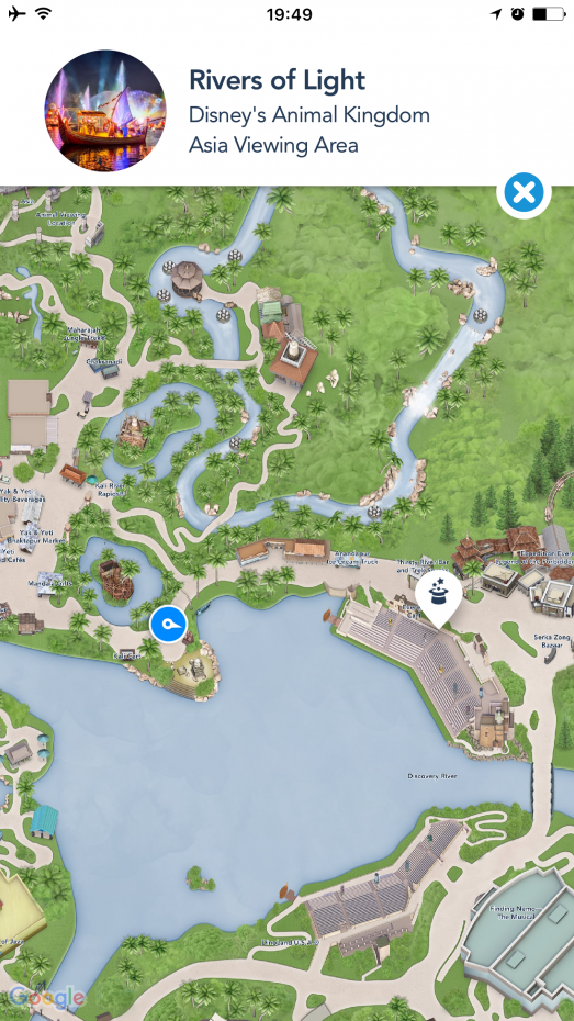 アプリを使って現在地と目的地を確認しながら行きました♪