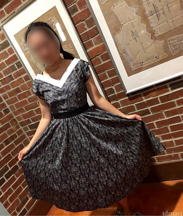 このドレス、個人的に一番お似合いだったと思いました。