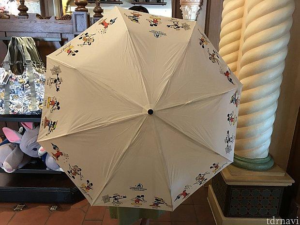 折りたたみ傘も♡晴雨兼用で自動開閉できる