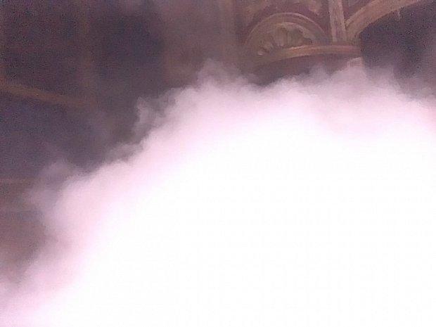 少し経つと煙が徐々に消えてきた。