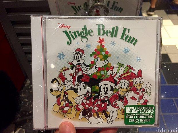 ディズニークリスマスミュージックCDは$6.98。最近アメリカでCDを購入する人が少ないからでしょうか、値段が安いです。お馴染みのクリスマスソングが10曲入り。 WDWクリスマスグッズ2017は如何だったでしょうか。続編もお楽しみに!