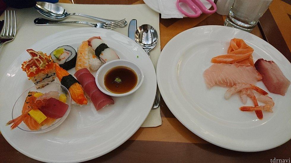 この中に意外な食材を使用したお寿司が……