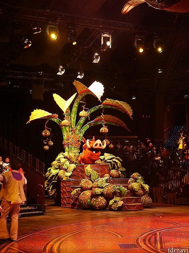 【ショー優先入場】 ライオン・キングのショーは予約なしで優先入場できます!