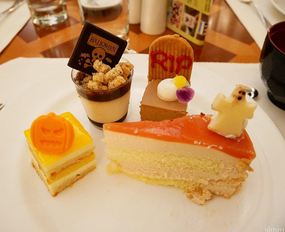 かわいいハロウィン仕様のケーキたち!!!