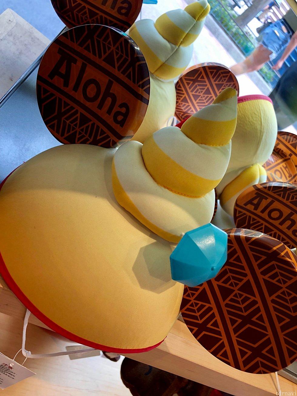 ちょっと罰ゲームっぽいミッキーハット。大きく中心に乗っかっているのはあくまでもドールホイップです。(笑)